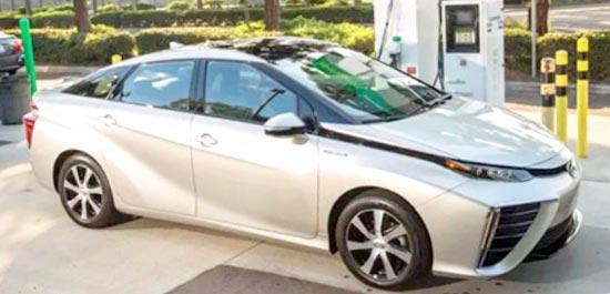 2020 Toyota Mirai Exterior