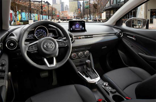 2020 Toyota Yaris Interior