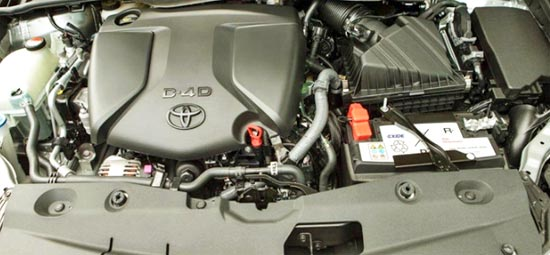 2020 Toyota Avensis Engine