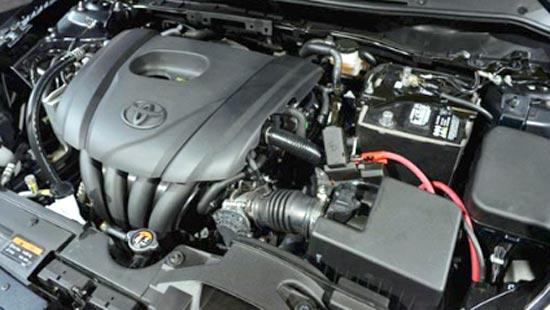 2020 Toyota Yaris Engine