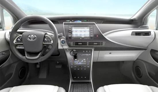 2020 Toyota Mirai Interior