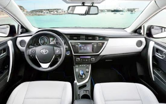 2020 Toyota Auris Interior