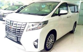 2020 Toyota Alphard Hybrid Review and Redesign