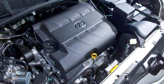 2020 Toyota Sienna AWD Engine