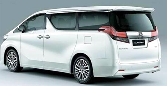 2020 Toyota Alphard Hybrid Exterior