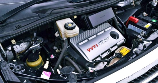 2020 Toyota Alphard Hybrid Engine