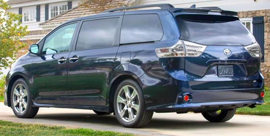 2020 Toyota Sienna AWD Release Date and Price