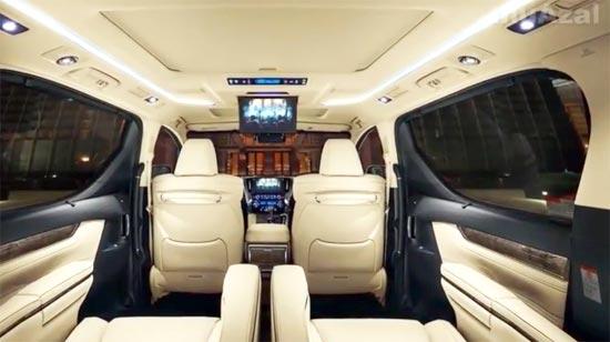 2020 Toyota Alphard Hybrid Interior