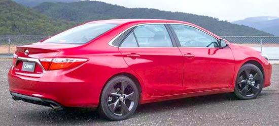 2020 Toyota Camry Atara R Release Date