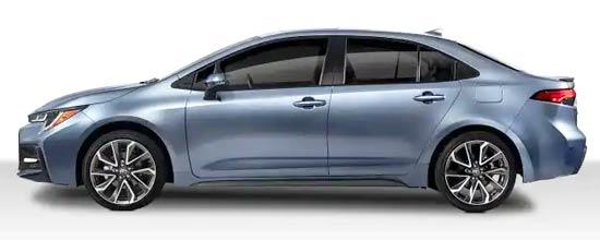 2020 Toyota Altis Exterior