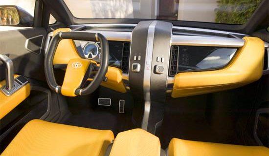 2020 Toyota A Bat Interior
