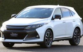 2021 Toyota Harrier Price, Review and Release Date