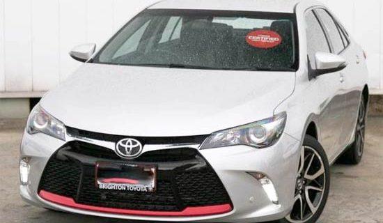 2021 Toyota Camry Atara SX Release Date Canada