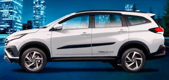 2021 Toyota Rush Exterior