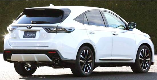 2021 toyota harrier price review and release date