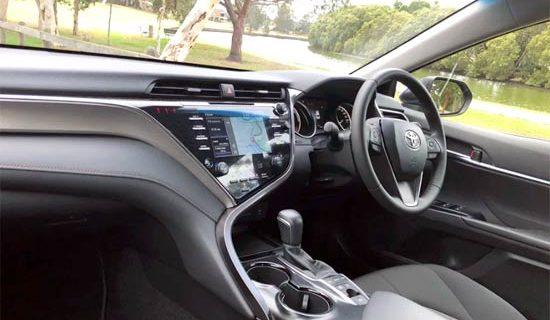 2021 Toyota Camry Atara SX Interior
