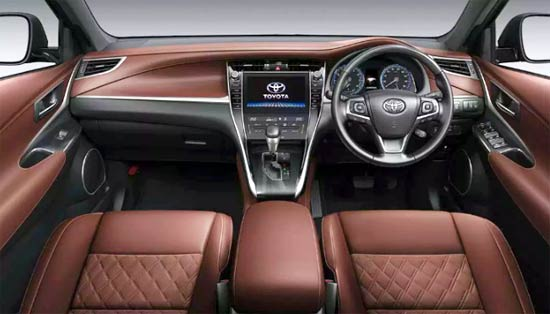 2021 Toyota Harrier Hybrid Interior