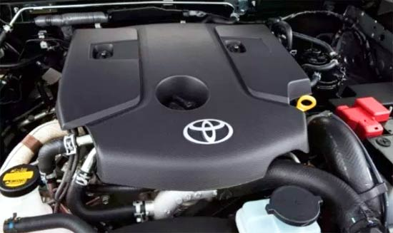 2021 Toyota Fortuner Engine Specs