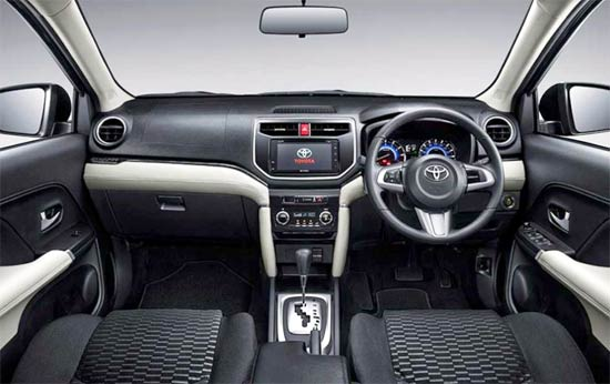 2021 Toyota Rush Interior
