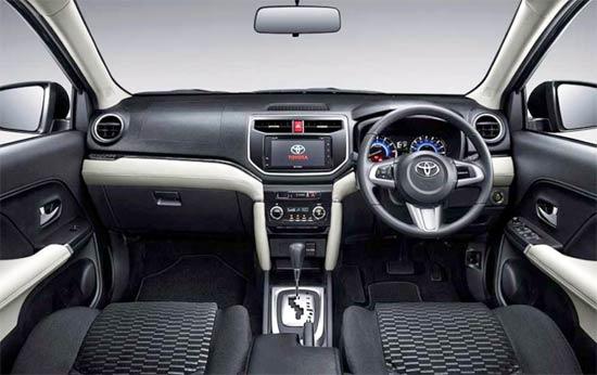 2021 Toyota Rush Interior