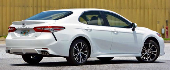 2021 Toyota Camry Exterior