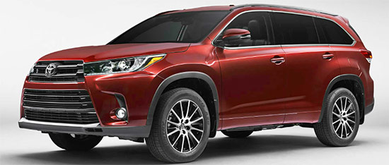 2021 toyota highlander changes and redesign  toyota