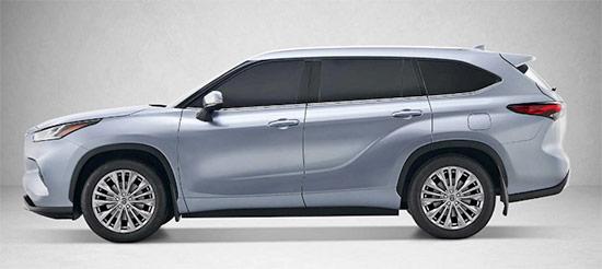 2021 Toyota Highlander Hybrid Exterior