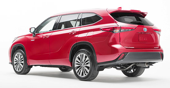 2021 Toyota Highlander Hybrid Release Date And Price