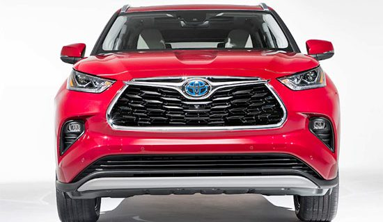 2021 Toyota Highlander Review, Spy Photo And Interior Changes