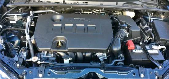 2021 Toyota Corolla Engine