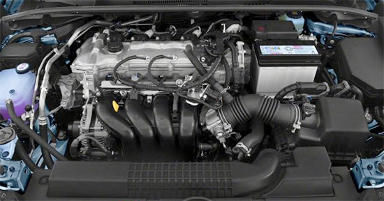 2021 Toyota Corolla Hatchback Engine