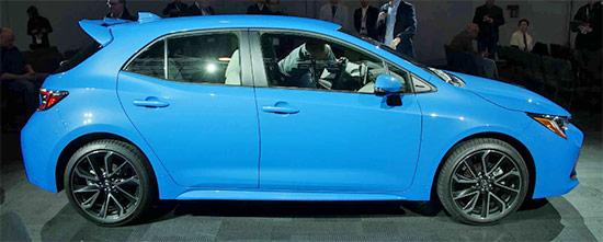 2021 Toyota Corolla Hatchback Exterior