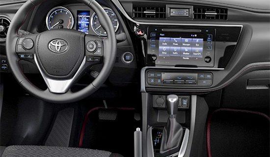 2021 Toyota Corolla Hatchback Interior
