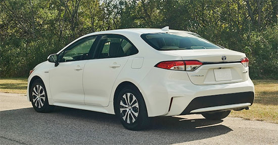 2021 Toyota Corolla Hybrid Exterior