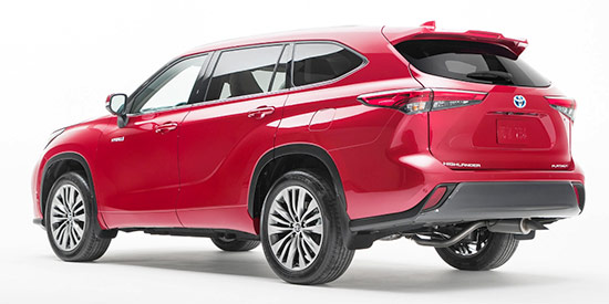2021 Toyota Highlander Release Date And Price