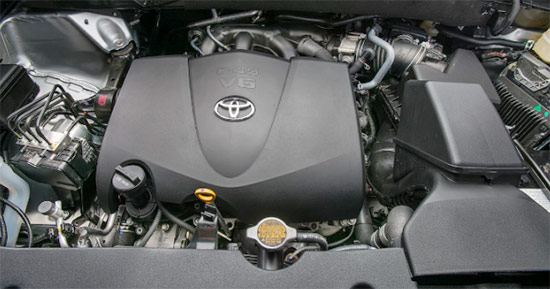 2021 Toyota Highlander Hybrid Engine