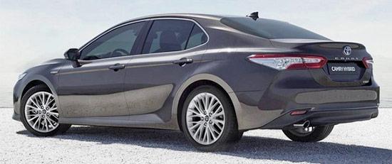 2021 Toyota Camry Hybrid Exterior