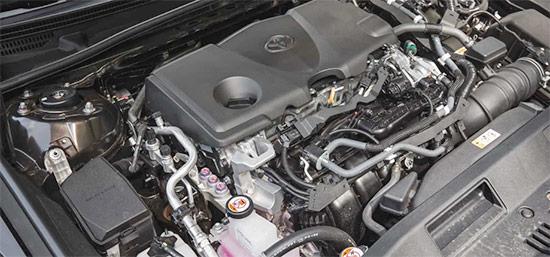 2021 Toyota Camry XLE Engine