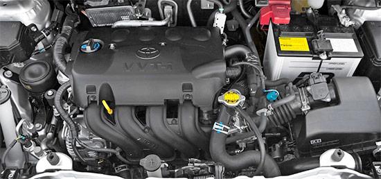2021 Toyota Yaris Hatchback Engine