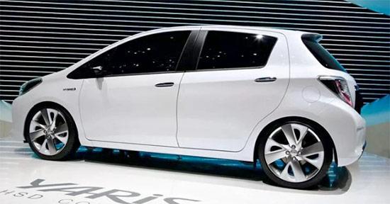 2021 Toyota Yaris Hatchback Exterior
