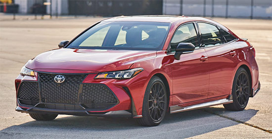 2021 Toyota Avalon TRD Review, Release Date And Price
