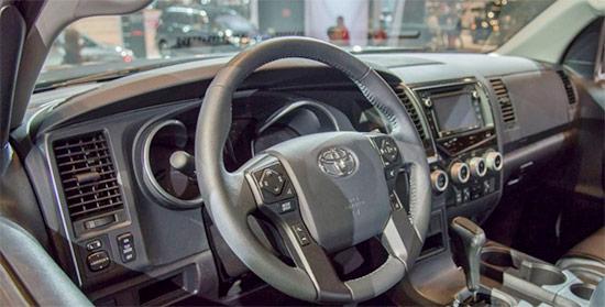 2021 Toyota Sequoia Interior