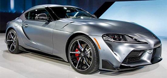 2021 Toyota Supra Exterior