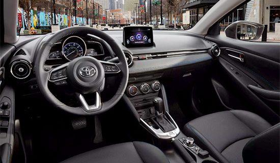 2021 Toyota Yaris Hatchback Interior