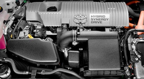 2021 Toyota Yaris Hybrid Engin