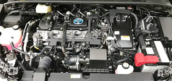 2021 Toyota Yaris Hybrid Engine