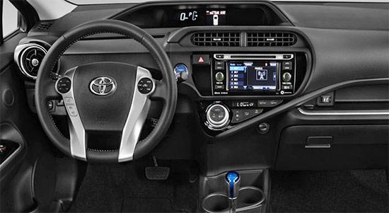 2021 Toyota Yaris Hybrid Interior
