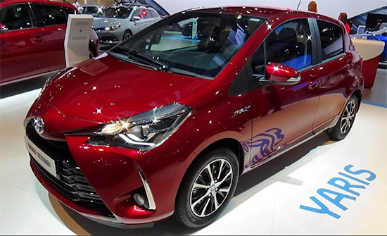 2021 toyota yaris hybrid redesign  interior and release date