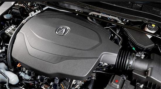 2021 Acura ILX Type S Engine