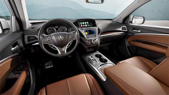 2021 Acura MDX Interior